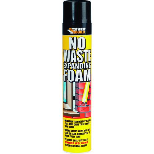 NO WASTE EXPANDING FOAM 750ML