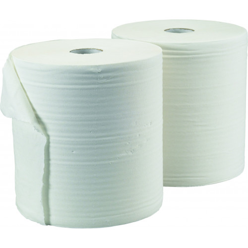 ROLL  CENTREFEED TOWEL  - WHITE 150m x 19cm