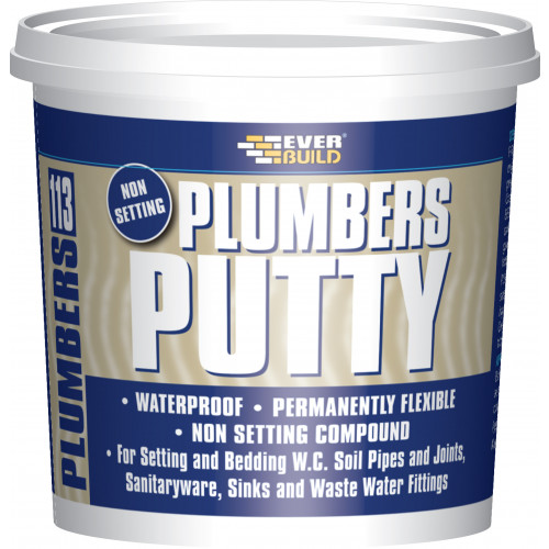 113 PLUMBERS PUTTY 750GR