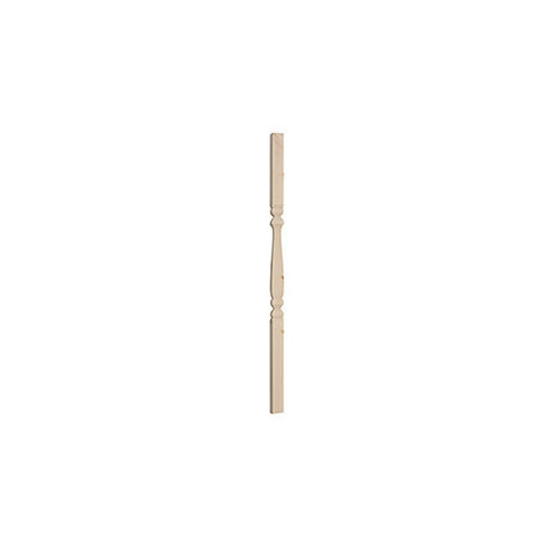 Pine Spindle 41mm x 41mm Provincial