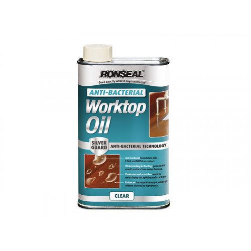 Ronseal Anti-Bacterial Worktop Oil 1 Litre