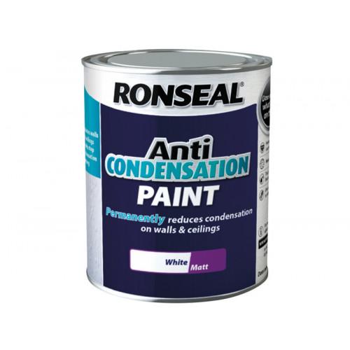 Ronseal Anti Condensation Paint White Matt 2.5 Litre