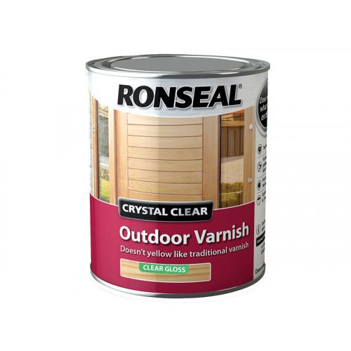 Ronseal Crystal Clear Outdoor Varnish Matt 2.5 Litre