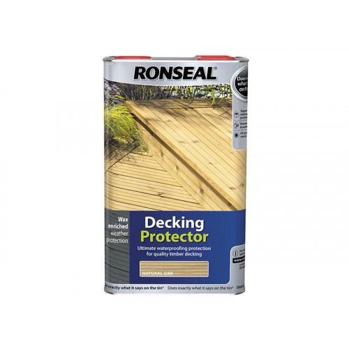 Ronseal Decking Protector Natural Oak 5 Litre