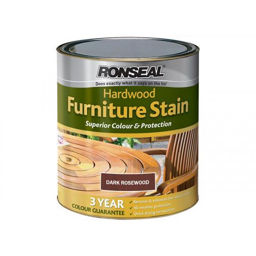 Ronseal Hardwood Furniture Stain Rosewood 750ml