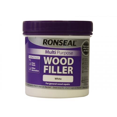 Ronseal Multi Purpose Wood Filler White 465g