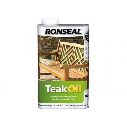 Ronseal Teak Oil Can 1 Litre