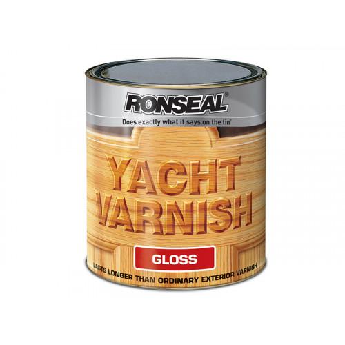 Ronseal Exterior Yacht Varnish Gloss 1 Litre