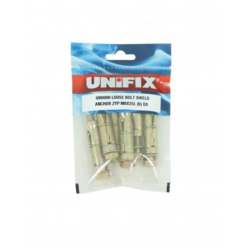 Ankerit Loose Bolt 6mm x 10mm Max Fixture (12mm drill) (10)