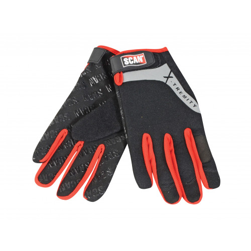 Work Gloves with Touch Screen Function