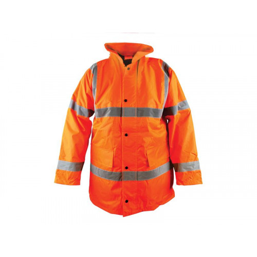 Hi-Vis Motorway Jacket Orange - L (42-44in)