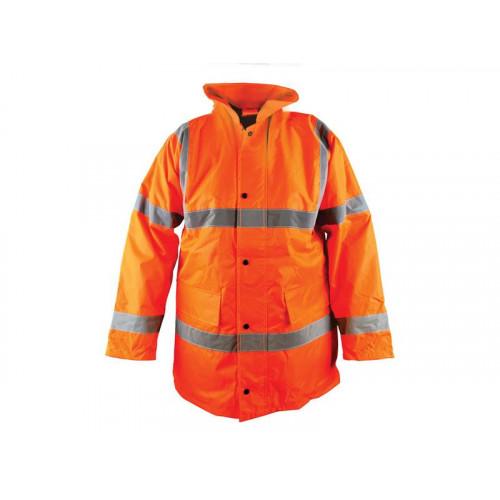 Hi-Vis Motorway Jacket Orange - L (42-44in)
