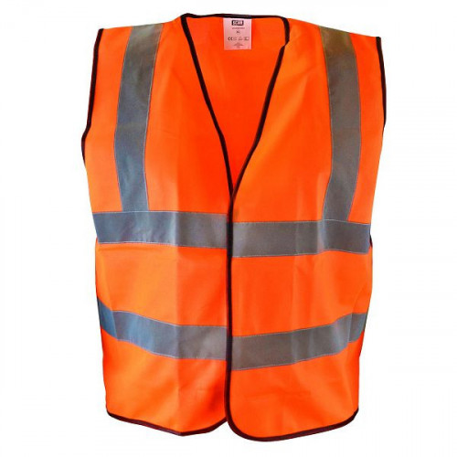Hi-Vis Waistcoat Orange - M (39-41in)