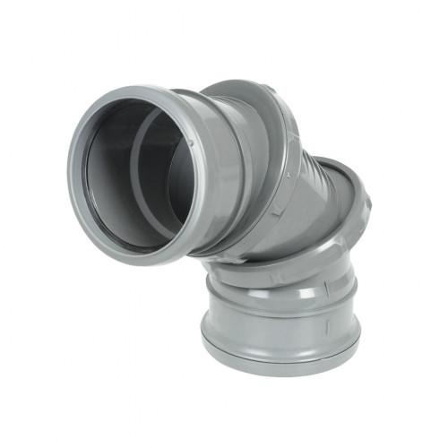 0º - 90º ADJUSTABLE SINGLE SOCKET BEND Grey