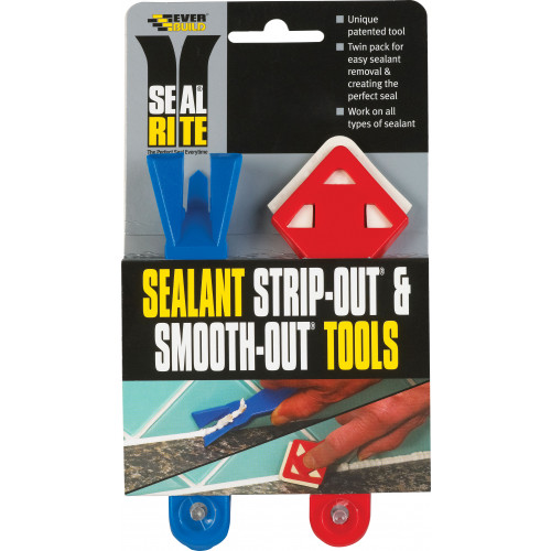 SEAL RITE STRIP/SMOOTH-OUT TWIN PACK