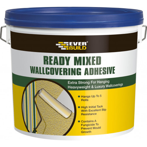 READY MIXED WALLCOVERING ADHESIVE 4.5KG