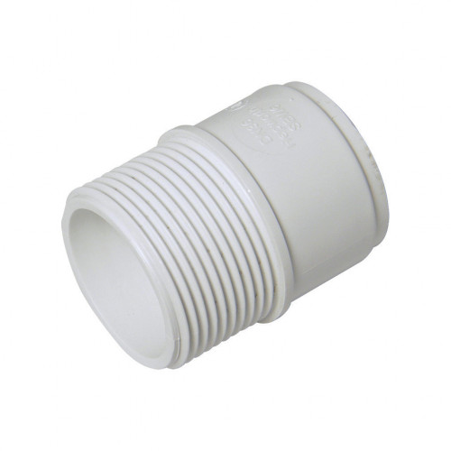 Threaded Coupling (M) 32mm White