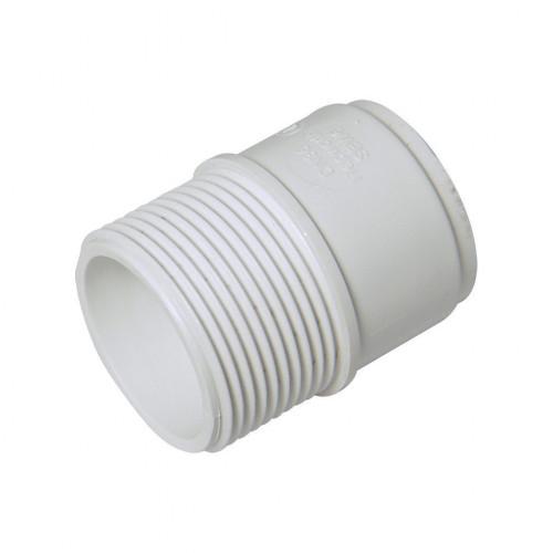 Threaded Coupling (M) 32mm White