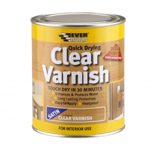 CLEAR VARNISH SATIN 250ML