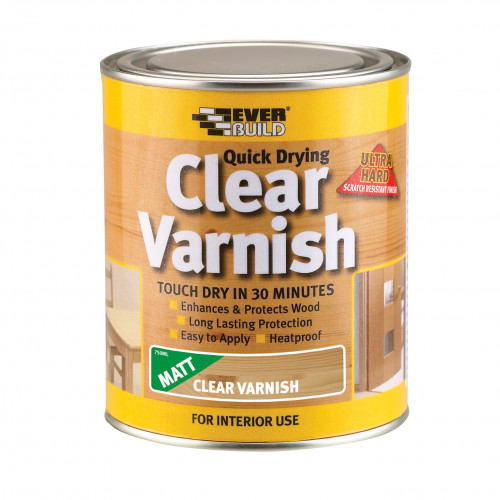 CLEAR VARNISH MATT 2.5LTR