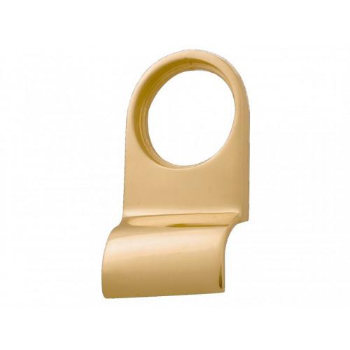 P110 Cylinder Pull Brass Finish