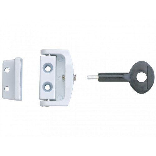 P113 Toggle Window Locks White Pack of 1