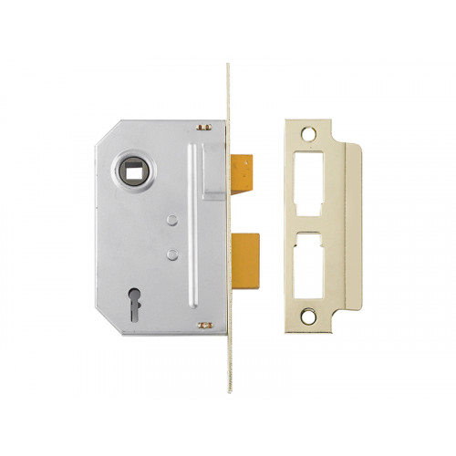 PM246 Internal 2 Lever Mortice Sash Lock 67mm 2.5in Polished Chrome