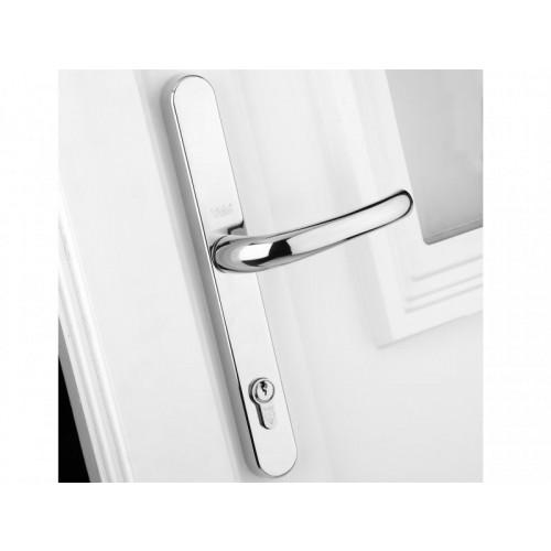 PVCu Retro Door Handle Polished Chrome Finish P-PVC-RH-PC