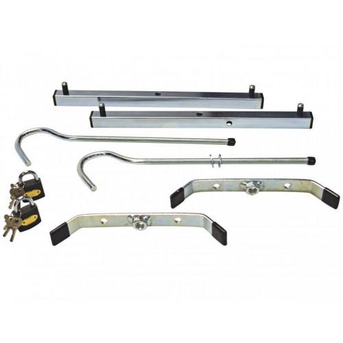 Ladder clamps (2) c/w 2 padlocks