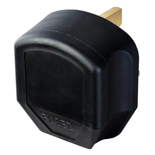 H/D Black Plug 230 Volt 13 Amp