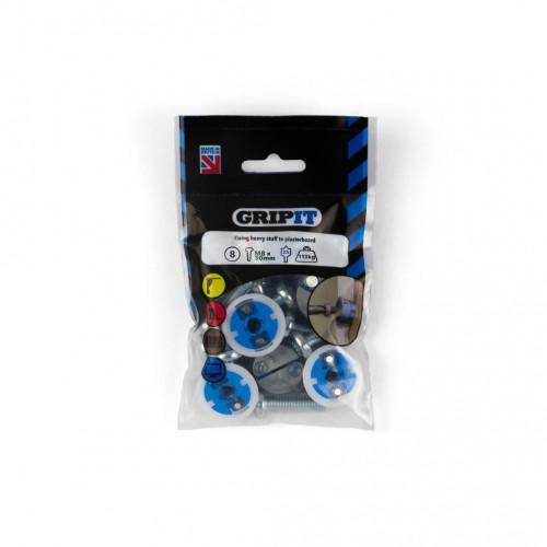 Gripit Blue Fixing Pack 8