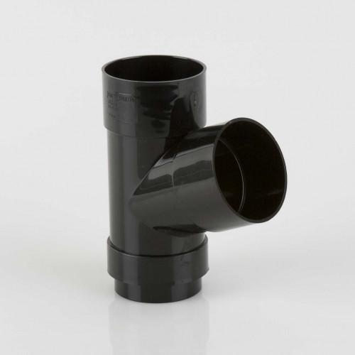 68mm 112.5º  DOWNPIPE BRANCH Black