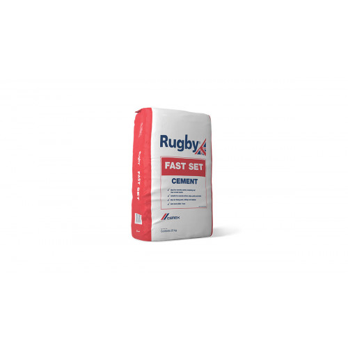 Rugby Quick Set Cement 25Kg