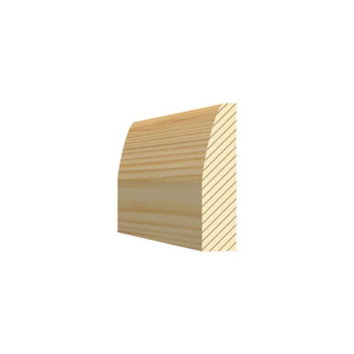Chamfered & Rounded Architrave 50mm Per Metre