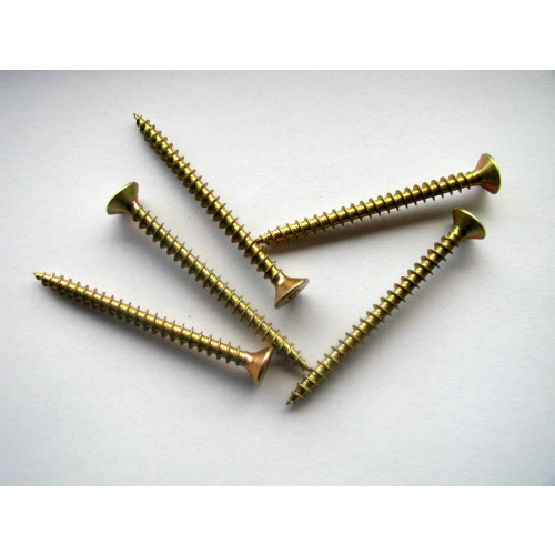 Chippy Screws 3.50 X 12 (200) Zinc plated & yellow passivated