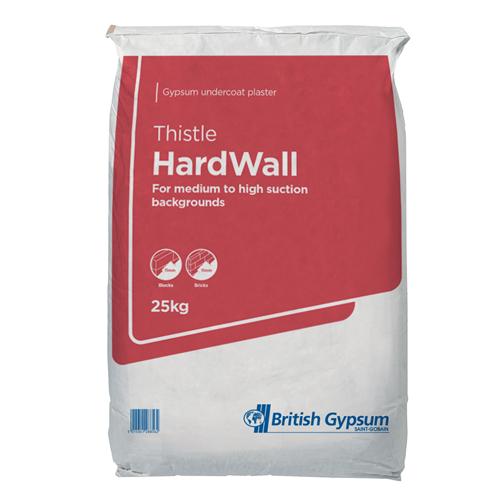 Thistle Hardwall Plaster  25kg