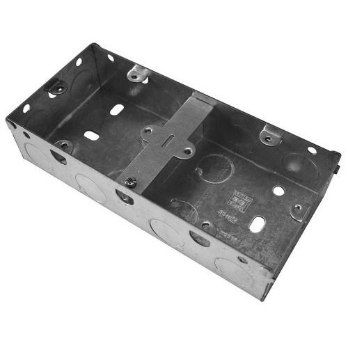 Metal Back Box Dual (2 x Single)