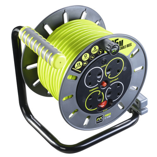 Cable Reel 25 Metre 13 Amp 230 Volt