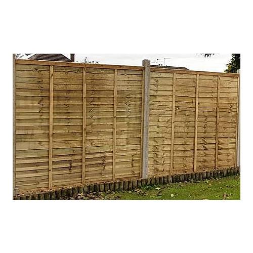3' Overlap Fence Panel