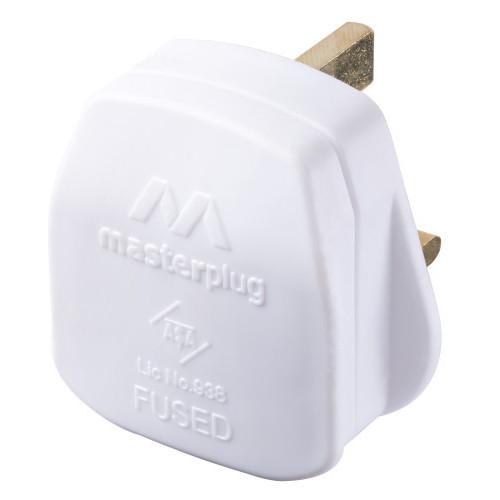 Plug Top 13amp White
