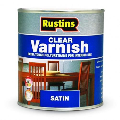 Rustins Polyurethane Varnish Clear