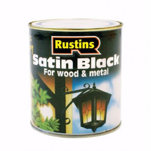 Rustins Quick Dry Satin Black