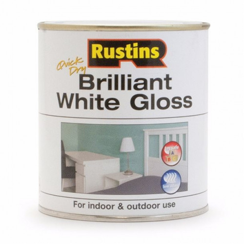 Rustins Water Based White Gloss
