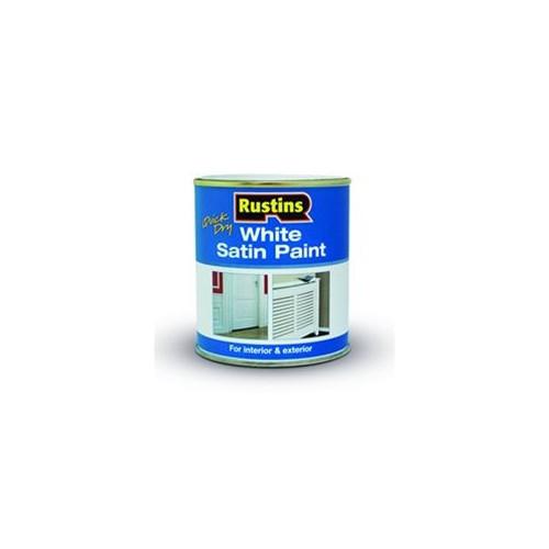 Rustins White Satin Paint