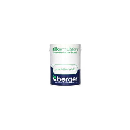BERGER VINYL SILK BRILLIANT WHITE 5L