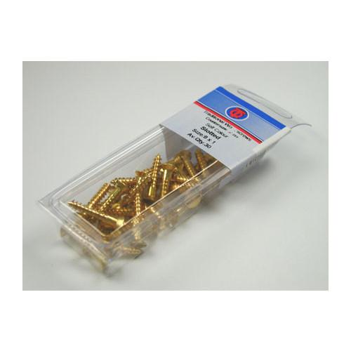 Brass Screws 2 x 3/8