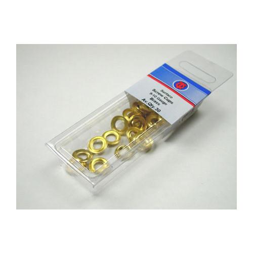 Brass Screw Cups Size 9-10