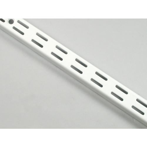 Twin Slot Upright   White 710mm